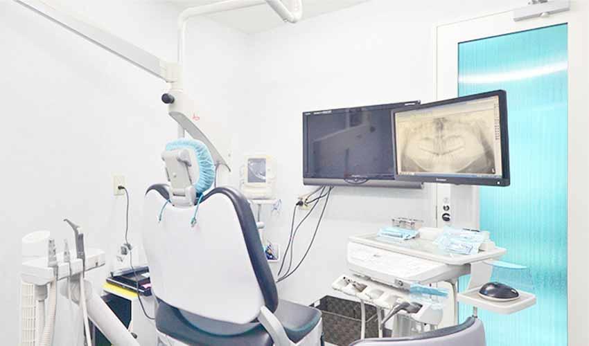 もりやま歯科 診療室