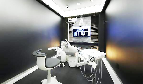 岳歯科クリニック 診療室内を含む写真