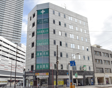 ホワイトエッセンス広島駅前歯科医院外観の写真