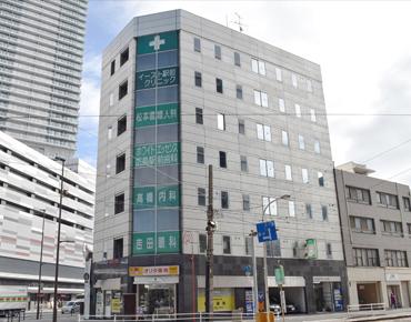 ホワイトエッセンス広島駅前歯科 医院外観の写真