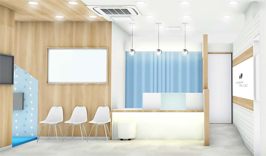 新越谷駅ビルそうごう歯科医院外観の写真