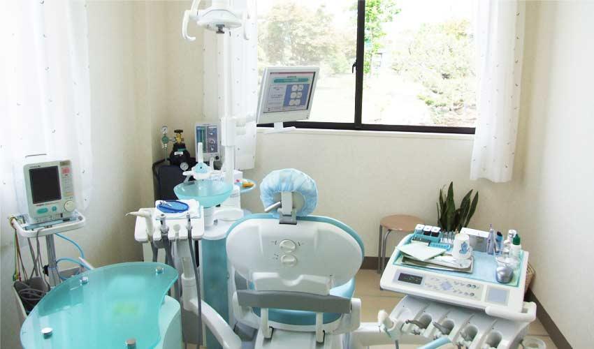 まつざき歯科クリニック 診療室内を含む写真