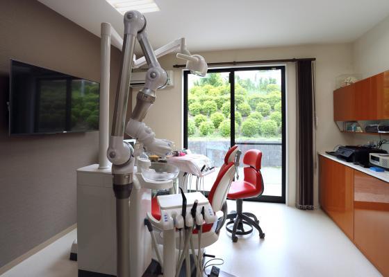 ササキデンタルクリニック 全個室の診療室