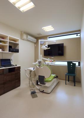 ササキデンタルクリニック 歯科衛生士の専用チェアー