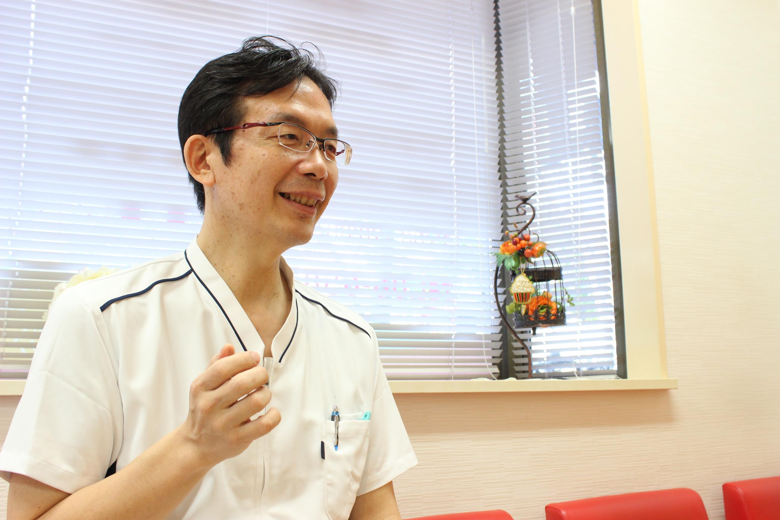 なみよけ歯科医院 院長の写真