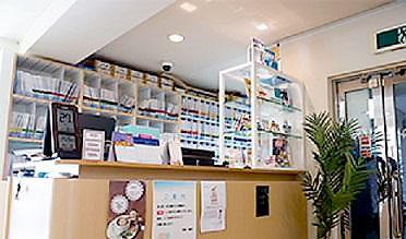 海岸歯科室 診療室内を含む写真