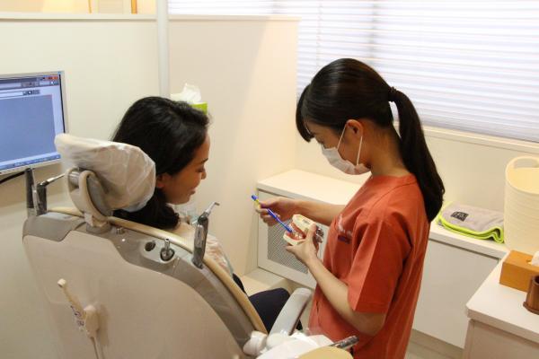 ひのまる歯科 ブラッシング指導